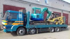 Эвакуатор для перевозки тракторов , катков , асфальтоукладчиков и мн