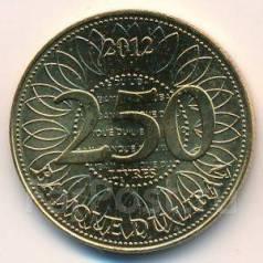 Ливан. 250 ливров 2012 года.