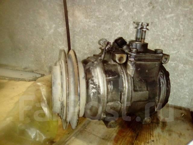 Компрессор кондиционера. Toyota Hilux Surf, KDN185W, RZN180W, RZN185W, VZN185W Двигатели: 1KDFTV, 3RZFE, 5VZFE