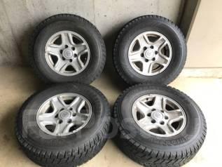 Отличные зимние Bridgestone DM-Z2 265/70/16 на литье Prado 15/7/16. 7.0x16 6x139.70 ET15