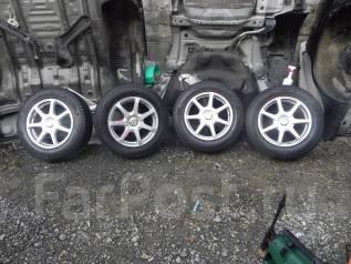 Продам комплект зимних колес. 7.0x17 5x100.00, 5x114.30 ET38