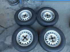 Bridgestone Blizzak VL1. Зимние, без шипов, 2016 год, износ: 5%, 4 шт