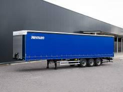 Neman. Новый шторный полуприцеп (Grunwald), 31 400 кг.