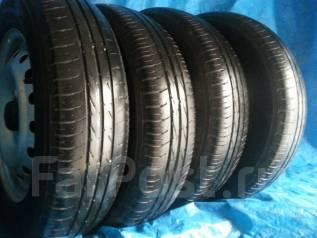 Продам комплект летних колес 145/80 R13 Dunlop Enasave EC203. x13