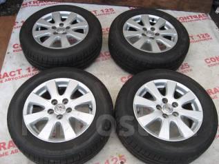 Продам летние шины 215/60R16 на литых дисках Toyota Camry. 6.5x16 5x114.30 ET45