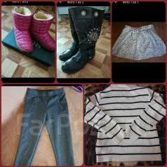 Обувь, вещи для девочки