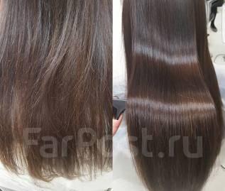 Глубокое восстановление, выпрямление волос класса LUX! Выезд! от 2000!