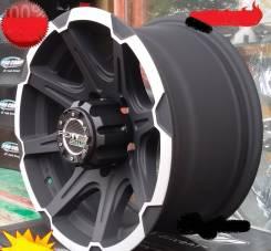 PDW Wheels. 8.0x16, 5x114.30, 5x139.70, ET-25, ЦО 110,0мм.