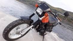 Yamaha TW 200. 200 куб. см., исправен, птс, без пробега
