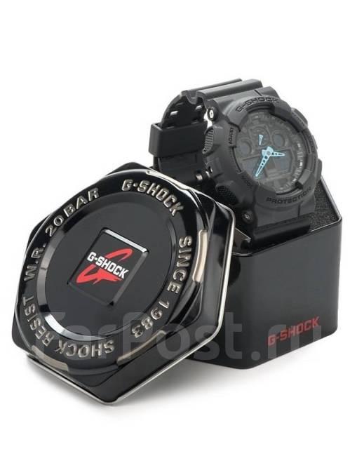 348b19bc Часы Casio G-Shock GA-100 С -8А. Премиум! Электронные. Цена 3 дня ...