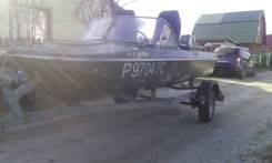 Обь-3. Год: 2010 год, длина 4,20м., двигатель подвесной, 40,00л.с., бензин
