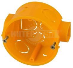 Коробка установочная светозар для подштукатурного монтажа, макс напряж 400в, межцентр. расстояние 71 Артикул: SV-54903