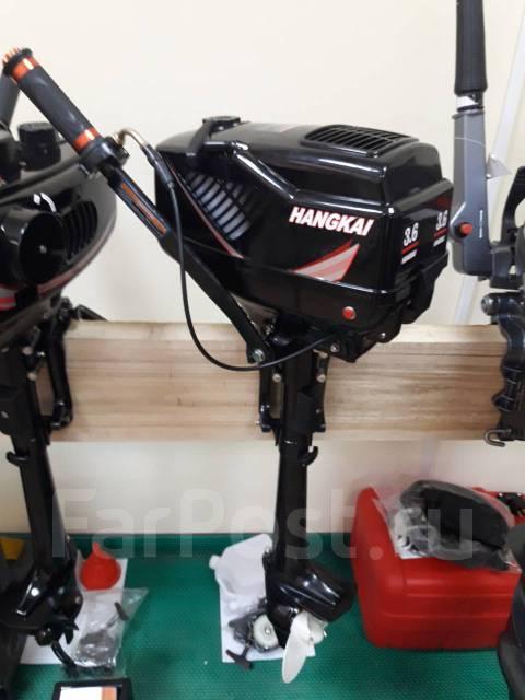 Hangkai. 3,60л.с., 2-тактный, бензиновый, нога S (381 мм), Год: 2017 год
