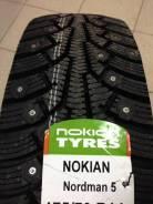 Nokian Nordman 5. Зимние, шипованные, 2017 год, без износа, 1 шт