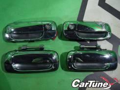 Накладка на ручки дверей. Toyota Crown Majesta, JZS177, JZS179, UZS175, UZS173, JZS175, UZS171, JKS175, JZS171, JZS173, GS171 Toyota Crown, JZS175W, J...