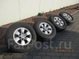 Комплект колес Hilux surf 215 6*139.7 R16 с летней резиной. 7.0x16 6x139.70