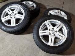 Зимний комплект R16+новая зима Dunlop 215/60/16 Япония. 6.5x16 5x114.30 ET42 ЦО 73,0мм.