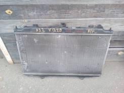 Радиатор охлаждения двигателя. Nissan Cefiro, A33 Двигатель VQ20DE