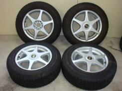 """Комплект колёс на жирной зиме 205/65R16 Yokohama Guard iG50. 7.0x16"""" 5x100.00, 5x114.30 ET48"""