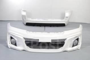 Обвес кузова аэродинамический. Toyota Land Cruiser, GRJ76K, GRJ79K, J200, URJ202, URJ202W, VDJ200 Двигатели: 1GRFE, 1URFE, 1VDFTV, 3URFE. Под заказ
