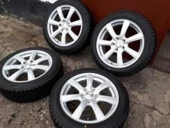 Комплект Prd R17+новая зима Dunlop 205/55/17 Япония. 7.0x17 5x114.30 ET55 ЦО 73,0мм.