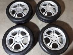 NEW Диски Etna R17 Япония +лето Bridgestone 205/55/17. 7.0x17 5x114.30 ET53 ЦО 73,0мм.