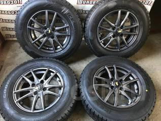 Комплект зимних новых колес 185/70R14 Goodyear и литья PSD 4x100 +38. 5.5x14 4x100.00 ET38 ЦО 67,1мм.