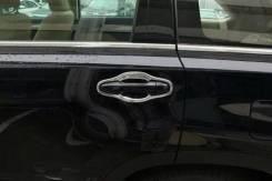 Накладка на ручки дверей. Toyota Highlander, ASU50L, GVU58, GSU55, GSU50, GSU55L, ASU50 Toyota Land Cruiser Prado Двигатели: 1ARFE, 2GRFXE, 2GRFKS, 2G...
