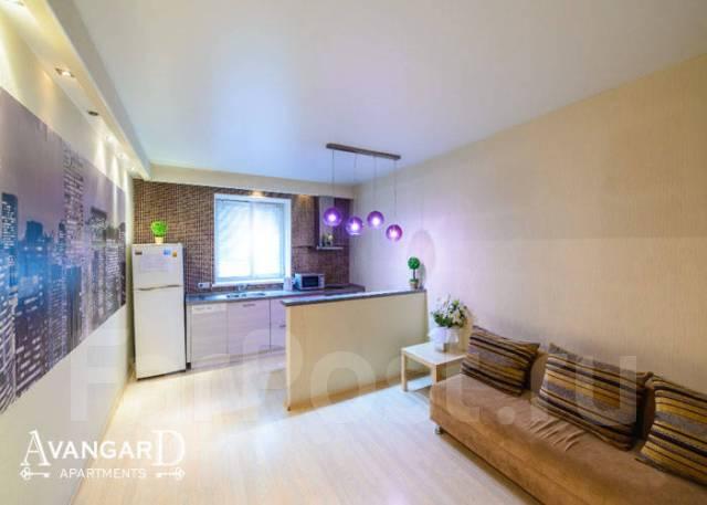 2-комнатная, улица Светланская 117. Центр, 54 кв.м. Комната