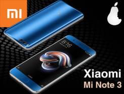Xiaomi Mi Note 3. Новый, 64 Гб, Синий
