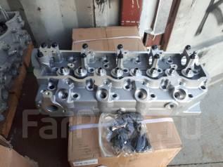Головка блока цилиндров. Mitsubishi Pajero, L144G, L144GW, L144GWG Mitsubishi Delica Двигатель 4D56