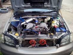 Выхлопная система. Subaru Legacy Lancaster, BHE Subaru Legacy, BHE, BEE Двигатель EZ30