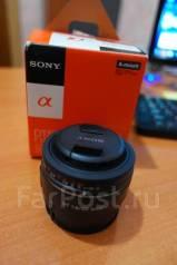 Светосильный и резкий портретник Sony DT 50mm f/1.8 (SAL-50F18). Для Sony A, диаметр фильтра 49 мм