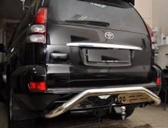 Силовые бампера. Toyota Land Cruiser Prado