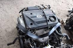 Двигатель в сборе. Mazda: Familia S-Wagon, Premacy, 626, Capella, Familia Двигатель FSZE