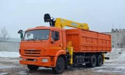 Soosan SCS736LII. КМУ Самосвал КамАЗ-65115-773094-42+КМУ Soosan SCS736L2 Top, кузов 20м3, 11 600 куб. см., 15 000 кг.