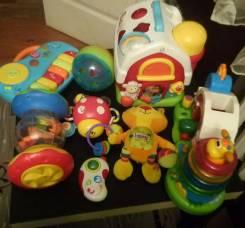 Развивающие игрушки одним лотом