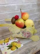 Тележка для цветов, фруктов