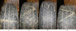 Michelin Agilis 81 Snow-Ice. Зимние, шипованные, износ: 50%, 4 шт