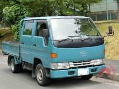 Toyota Dyna. двухкабинник LY131, 3L, 2800см3, задний привод, 2 800 куб. см., 1 250 кг. Под заказ