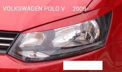 Накладка на фару. Volkswagen Polo, 6R1, 612, 602 Двигатели: CUSB, CPTA, CAYC, CLPA, CBZB, CHYB, CFNB, DAJB, CGPB, CTHE, CFW, CGGB, CDDA, CFNA, CBZC, C...