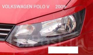 Накладка на фару. Volkswagen Polo, 602, 612, 6R1 Двигатели: CBZB, CDDA, CFNA, CFNB, CGGB, CGPA, CGPB, CLPA, CLSA