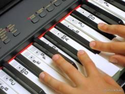 Наклейки с нотами на клавиши для пианино