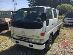 Toyota Dyna. 2х кабинный бортовой, рама LY161, двигатель 3L, 2 800 куб. см., 1 000 кг. Под заказ