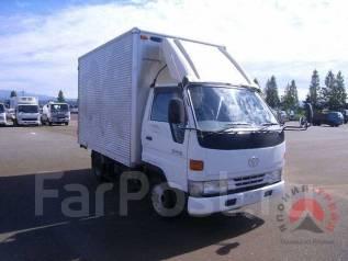 Toyota Dyna. фургон, двигатель 3L, 4вд, 2 800 куб. см., 1 500 кг. Под заказ