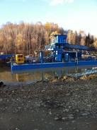 Продается плавучий многоковшовый экскаватор для добычи гравия и песка