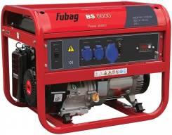 Генератор BS 6600 бензиновый FUBAG (6,0 кВт, бак 25л, 80кг)