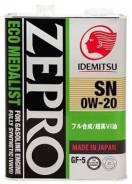 Idemitsu Zepro. Вязкость 0W-20