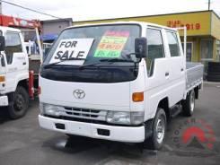 Toyota Dyna. , бортовой 1,5т. 4WD с двигателем 5L, 3 000куб. см., 1 500кг., 4x4. Под заказ