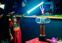 Новинка! Тесла шоу на детский праздник!